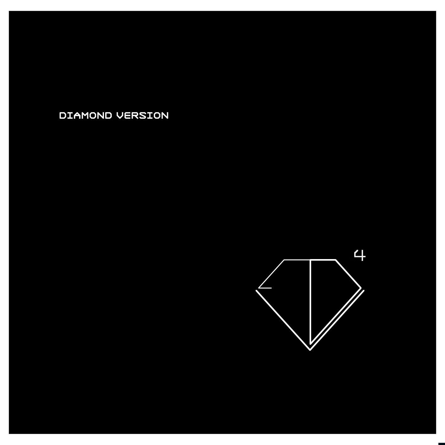 "DIAMOND VERSION // ""EP4"", sortie le 25 mars chez Mute/Naïve"