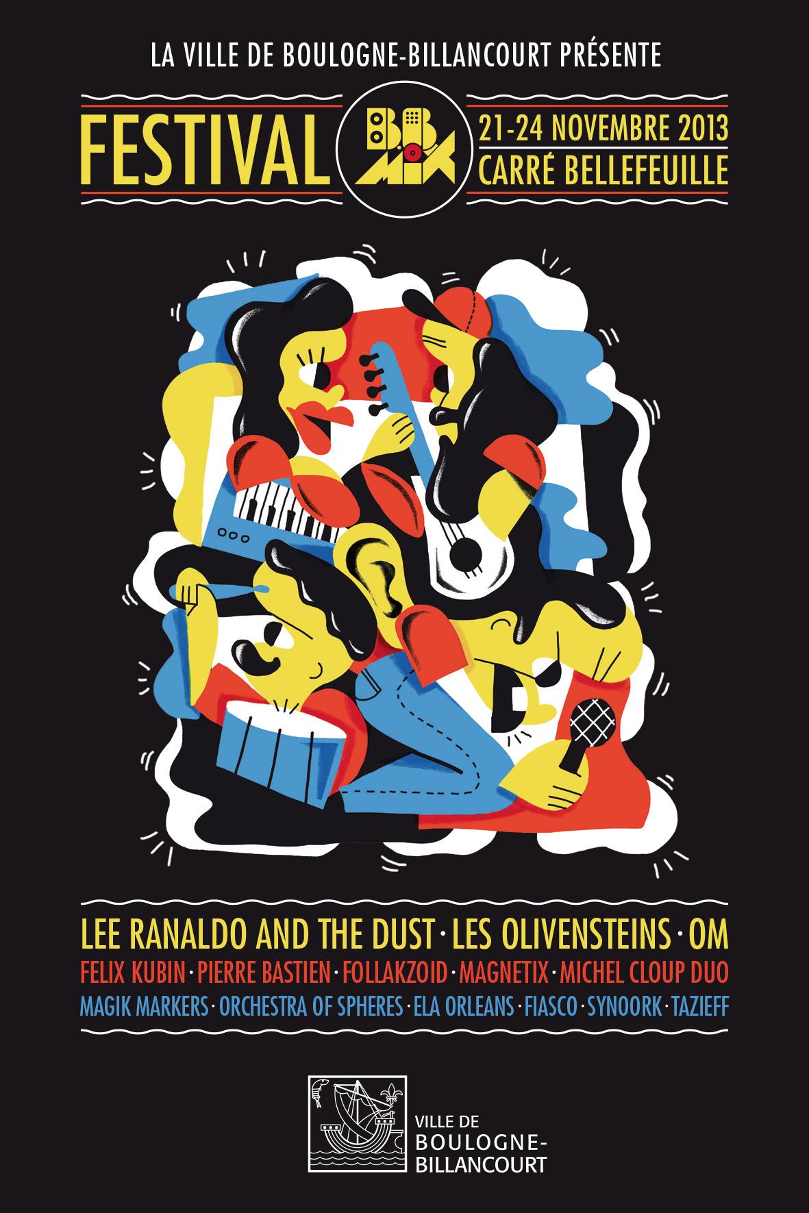 Festival BBMIX – Édition 2013 du 21 au 24 novembre