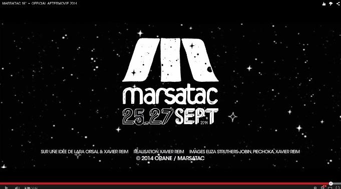 MARSATAC 2014 – OFFICIAL VIDEOS