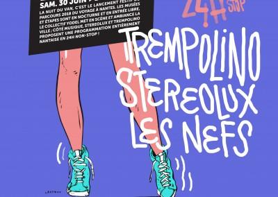 24h non-stop / programmation musicale de La Nuit du VAN 2018